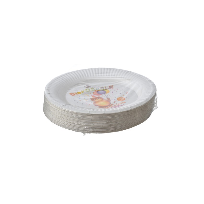 """7"""" Paper Plate (50's x 20Pkt)"""