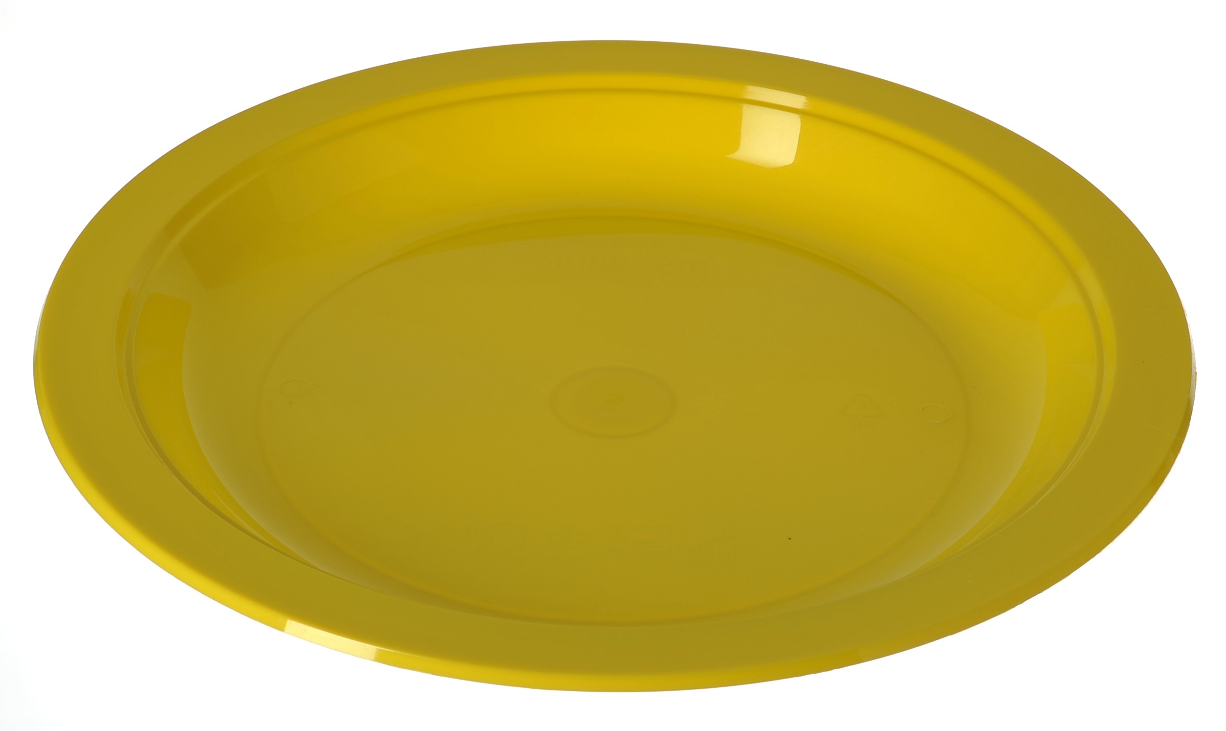 "MS 230P 9"" PP Plate (Yellow)(黄色)"