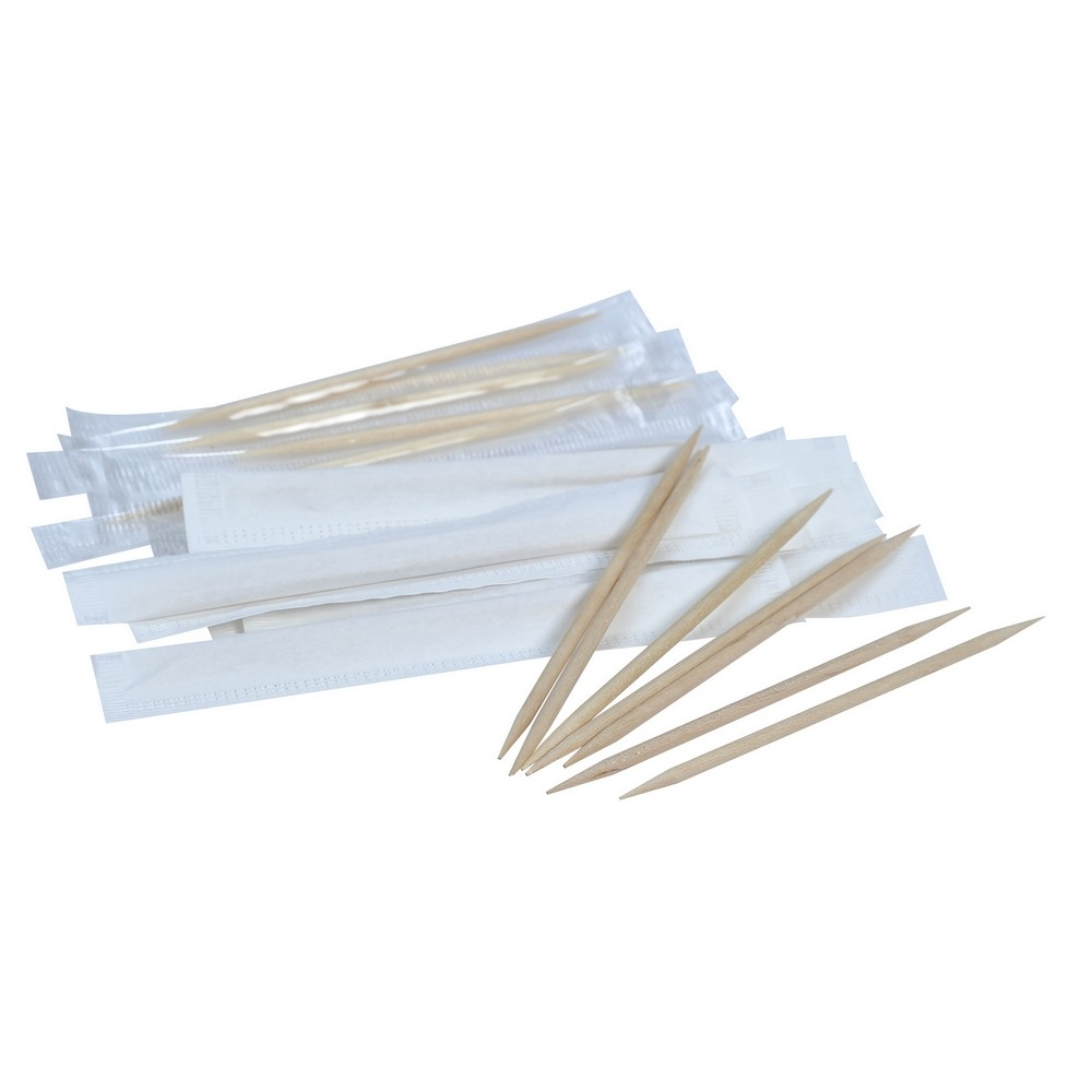 Paper Wrapped Toothpicks (1000pcs x 10box)