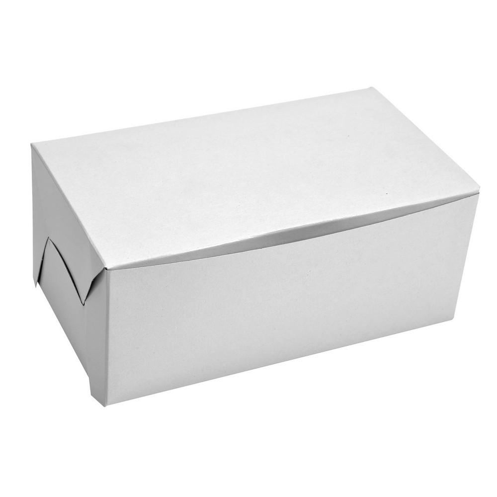 """White Paper Box ( 7 x 4 x 3"""" )"""