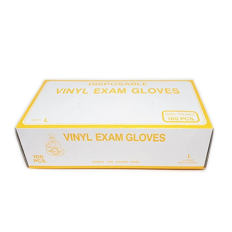 Vinyl Disposable Gloves ( Large-Y) Rui Yang