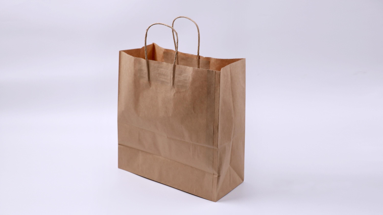 PTH 75 Brown Carrier Bag