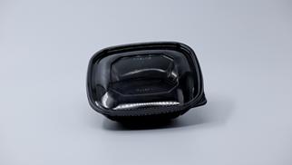 48 oz Black Salad Bowl (15048M-BK)