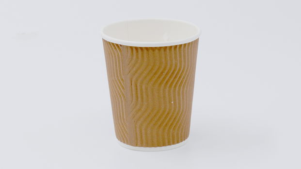 8 oz S-Ripple Paper Cup