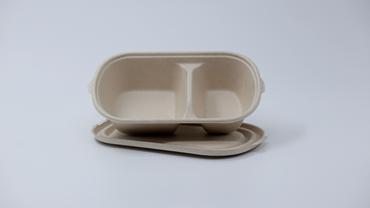 2 Com. 800ml Snack Box