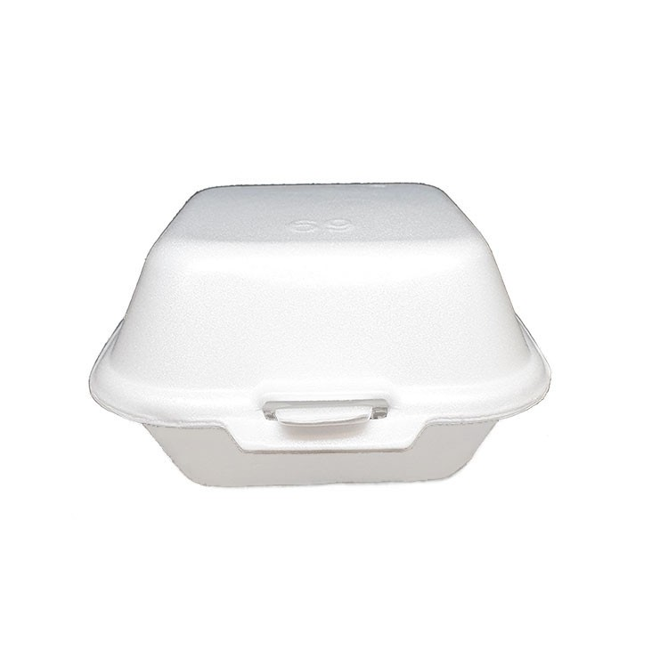 Foam Burger Box (TG-201) (White) (1000PCS/BAG)