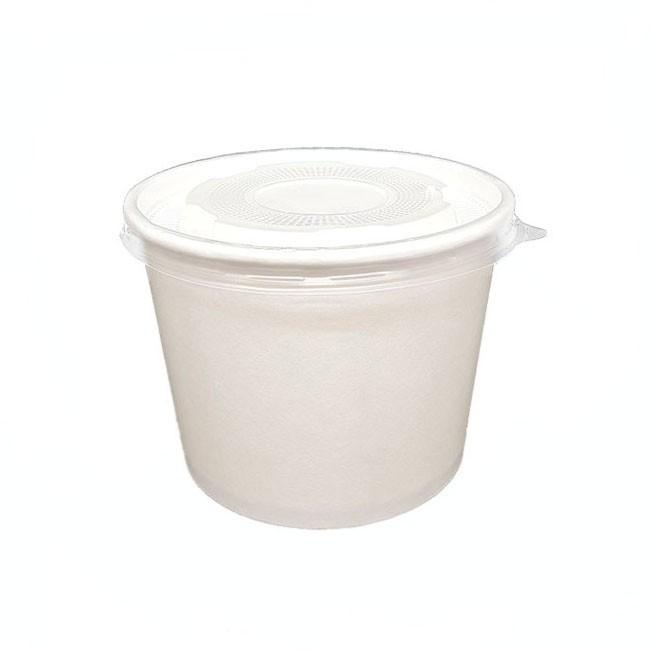 BO-390cc Paper Bowl 12oz (White-空白)