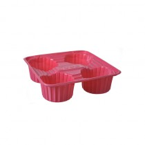 4 Cup Carrier(Plastic)