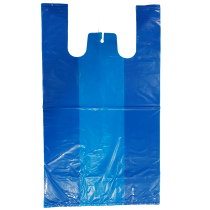 100% Large Bags ( Plain Blue )