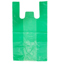 100% Large Bags ( Plain Green )