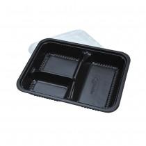 3 Com.Bento Box(Black)(BT-1)