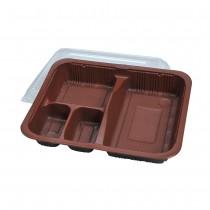 4 Com.Bento Box(Black)