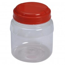 SU 610 Pet Jar with Red Cap  (60Pcs/Bag)