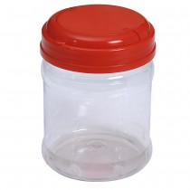 SU 815 Pet Jar with Red Cap  (48Pcs/Bag)