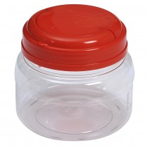 SU 670 Pet Jar with Red Cap  (55Pcs/Bag)