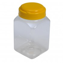 SU 245 Pet Jar with Yellow Cap (60Pcs/Bag)