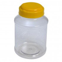 SU 262 Pet Jar with Yellow Cap (84Pcs/Bag)