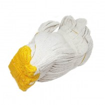 Cotton Glove (Yellow-Line)(0013)