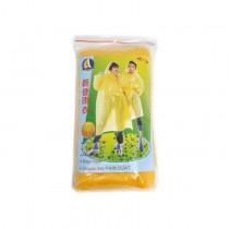 Disposable PE Rain Coat (Yellow)