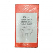 LDPE Heavy Duty Table Cloth(Red 深红色)