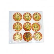 "Paper Sticker (金元宝-""發"")(6cm Big 大)"