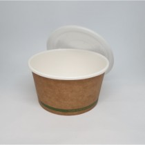 12oz Paper Bio Bowl (BSCK-12-GS)
