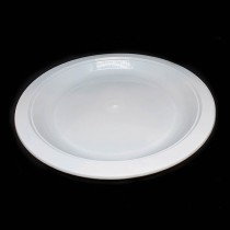 "MS 260P 10"" Plastic Plate (White)"