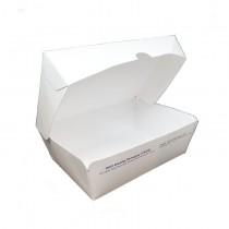 Paper Lockable Box (Plain White 白) No 4