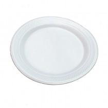 """Foam Plate Dia 8.5"""" ( SEA-Pink Pack)"""