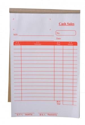 Cash Sales Invoices